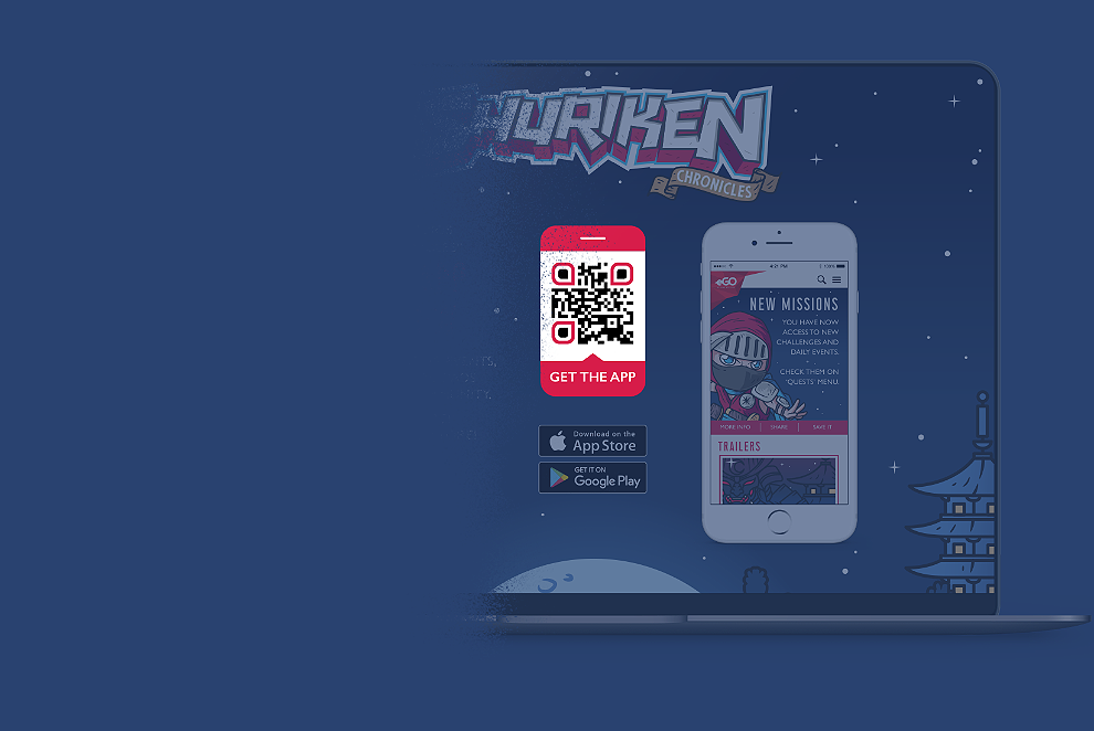 QR Code idea for app developers to promote app installations from multiple app stores in one QR Code
