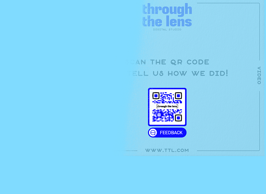 QR Code idea that leads to a feedback page for customers to fill out