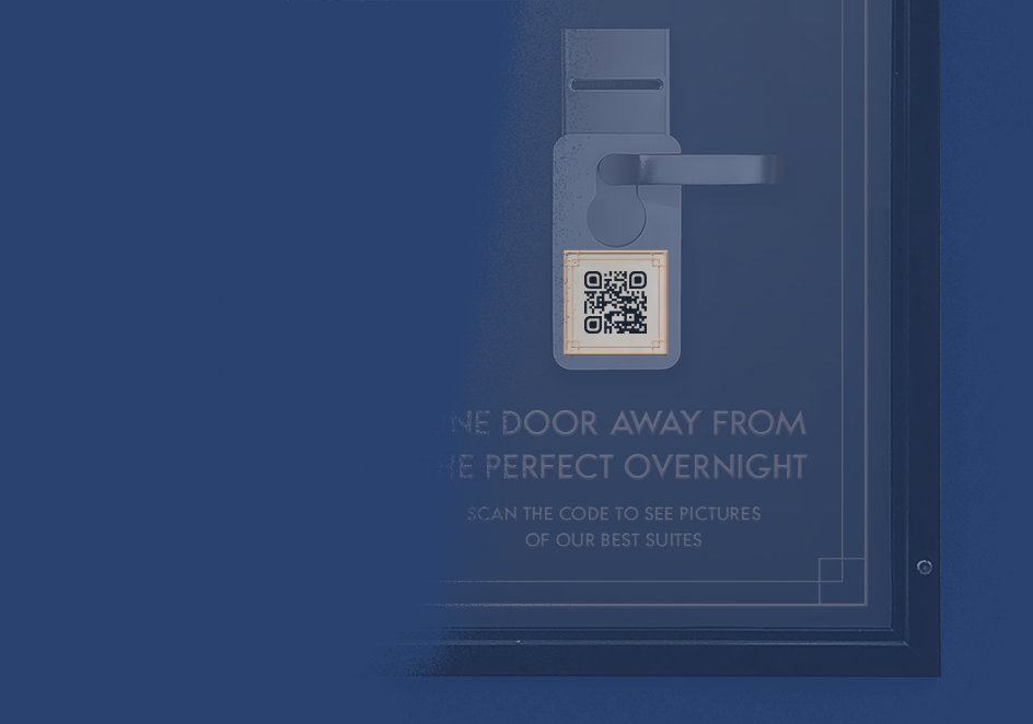 QR Code idea for hotels that displays images